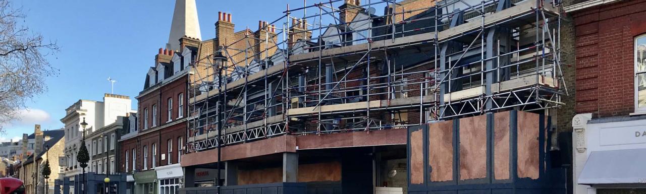 Grosvenor's Newson's Yard development on Pimlico Road, London SW1.