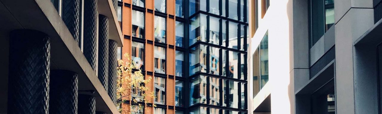 Six Pancras Square from King's Boulevard.