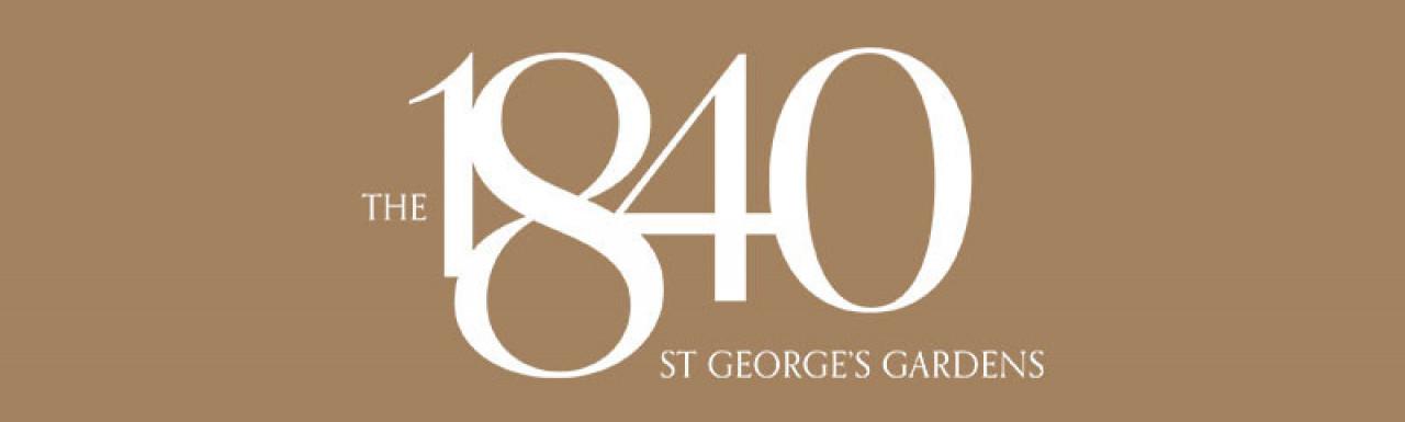 The 1840 St George's Gardens development logo.