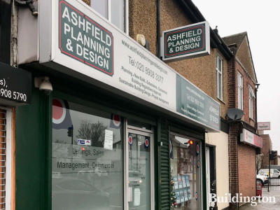 Ashfield Planning and Design at 145 Harrowdene Road, North Wembley HA0.