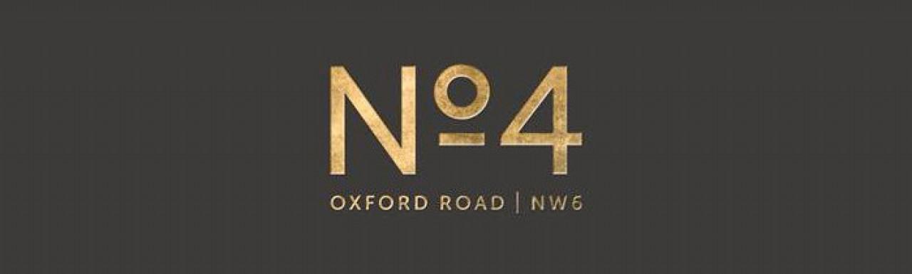 No.4 Oxford Road development logo.
