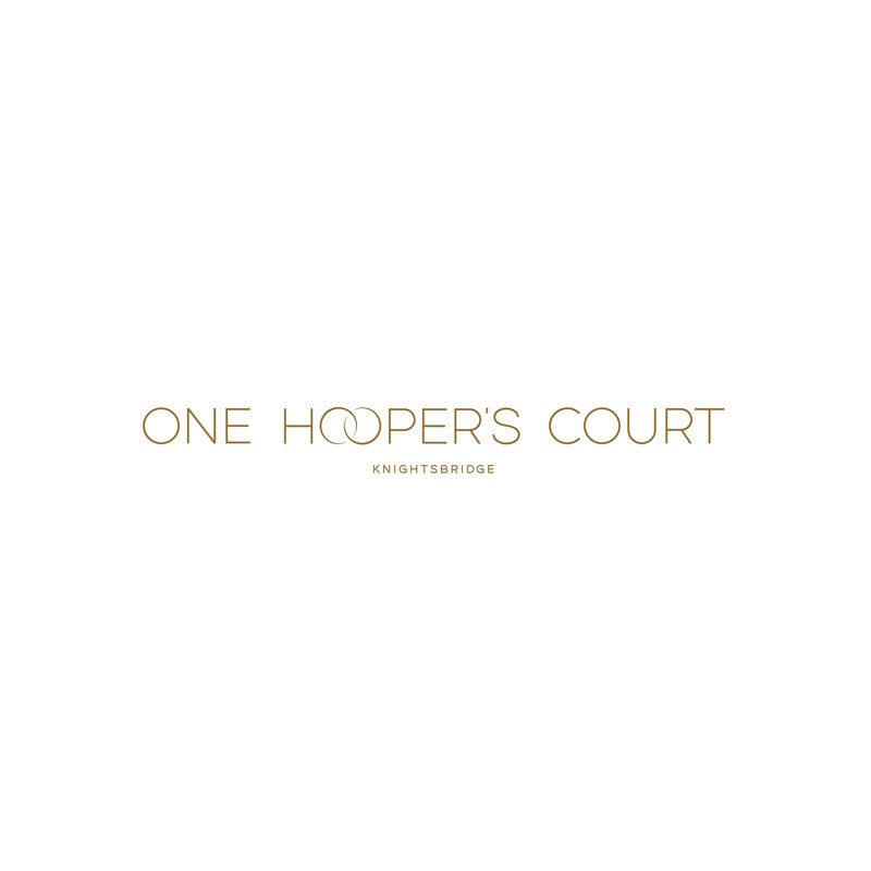One Hooper's Court office building logo.