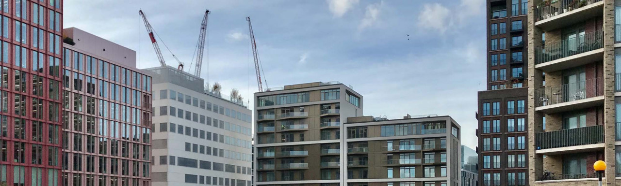 R8 King's Cross development site from York Way.
