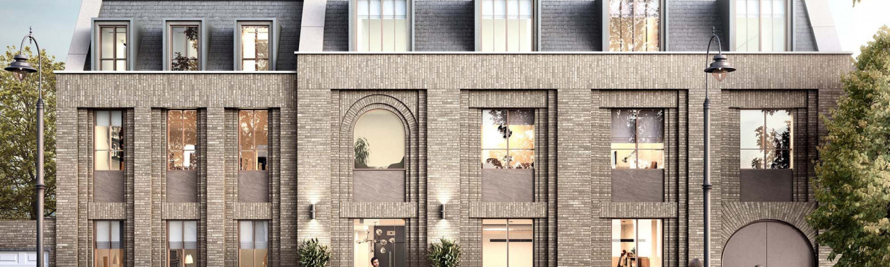 CGI of St. Georges Road building exterior, designed by TDO Architects.