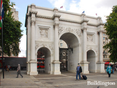 The temporary visitor attraction Marble Arch Hill will be built next to Marble Arch.