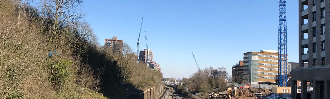 Wembley Link development site from Park Lane.