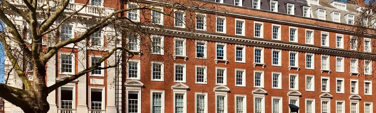 Twenty Grosvenor Square luxury apartment building at 22 Grosvenor Square in Mayfair, London W1.