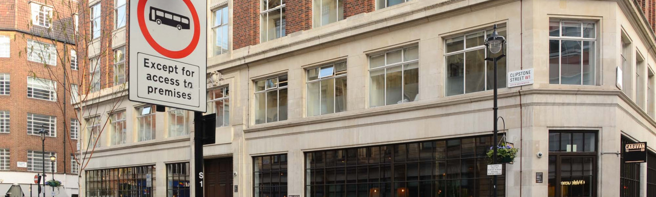 Yalding House at 152–156 Great Portland Street in London W1.