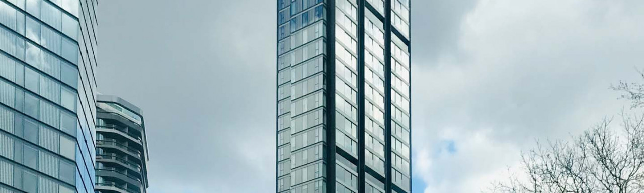 Carrara Tower at 250 City Road development in London EC2.