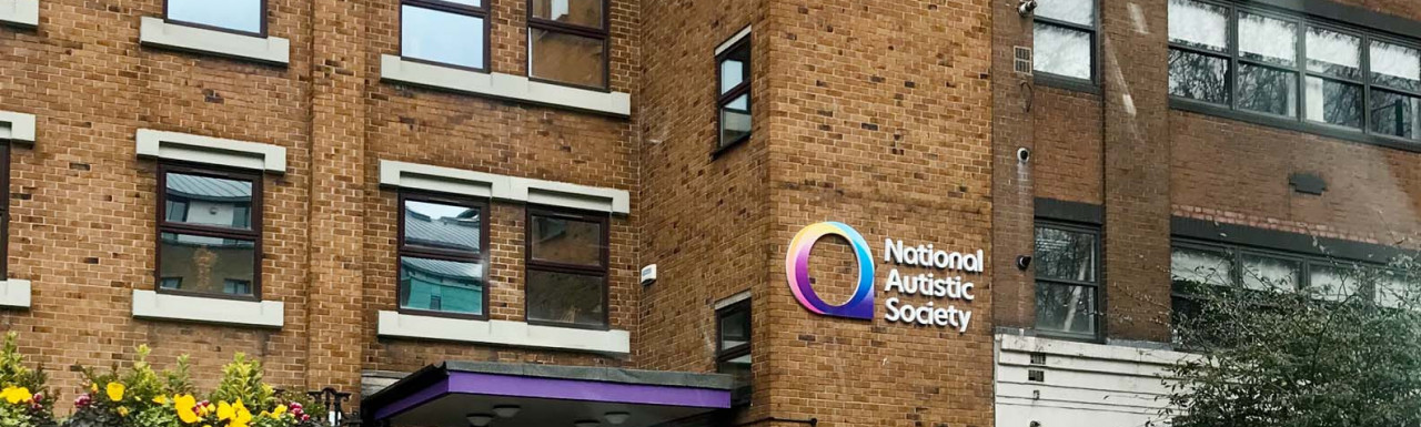 National Autistic Society building at 391-393 City Road in London EC1.