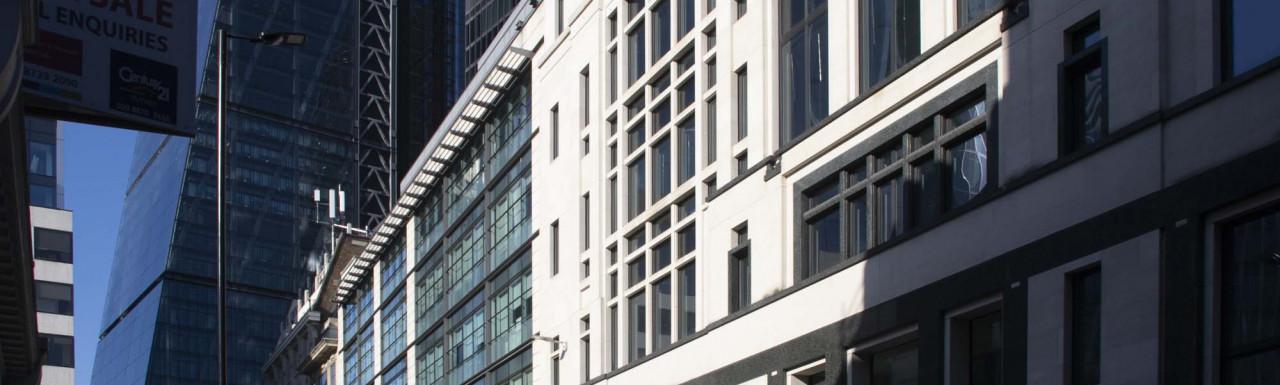 88 Leadenhall Street office building in the City of London EC3.
