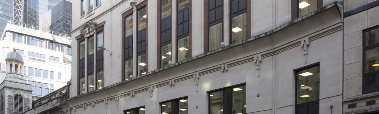 80 Leadenhall Street office building in the City of London EC3.