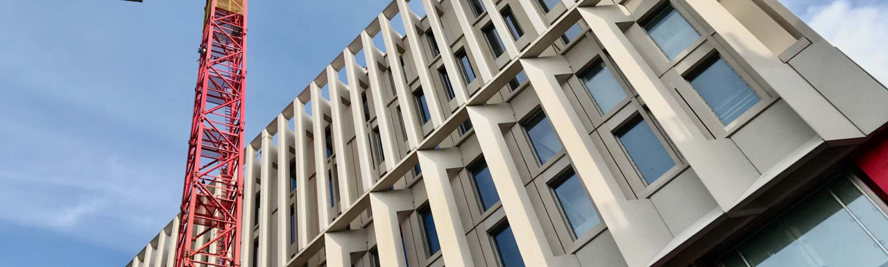 The Marshall Building has been designed by Grafton Architects.