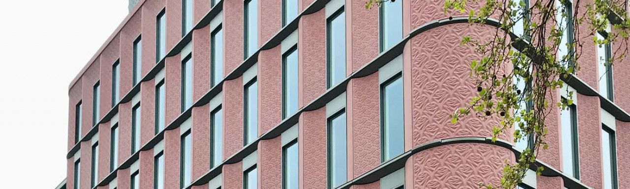 Ilona Rose House development on the corner of Manette Street and Charing Cross Road in London WC2.