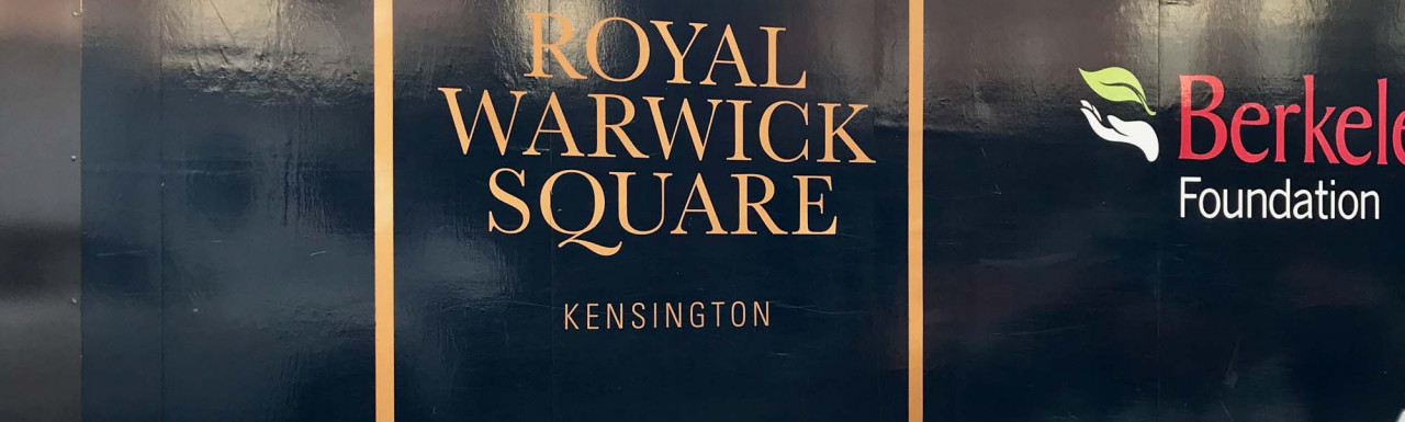 Royal Warwick Square residential development by St Edward in Kensington, London W14.