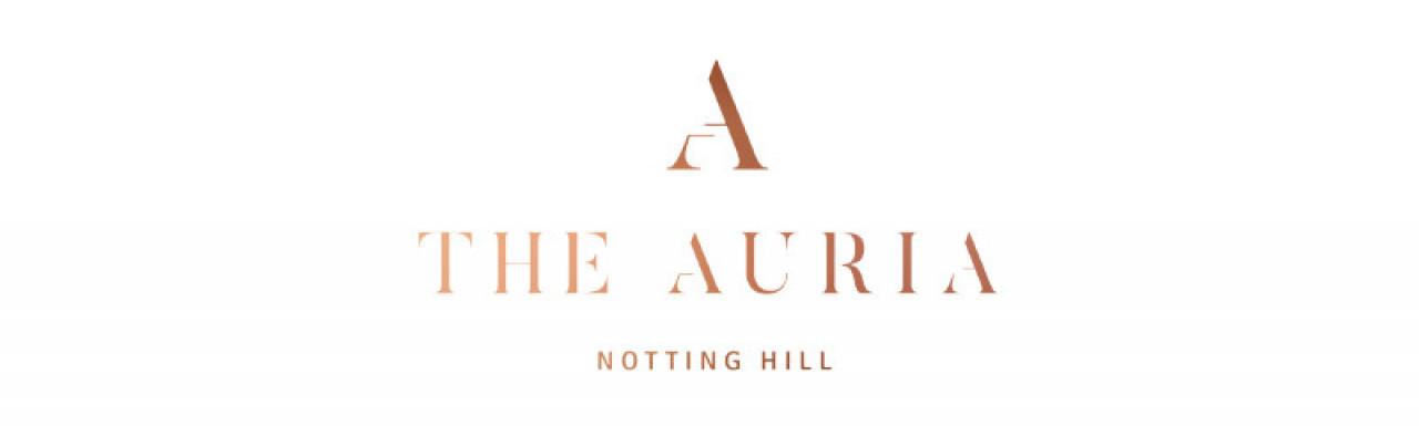 The Auria at Portobello Square development logo.