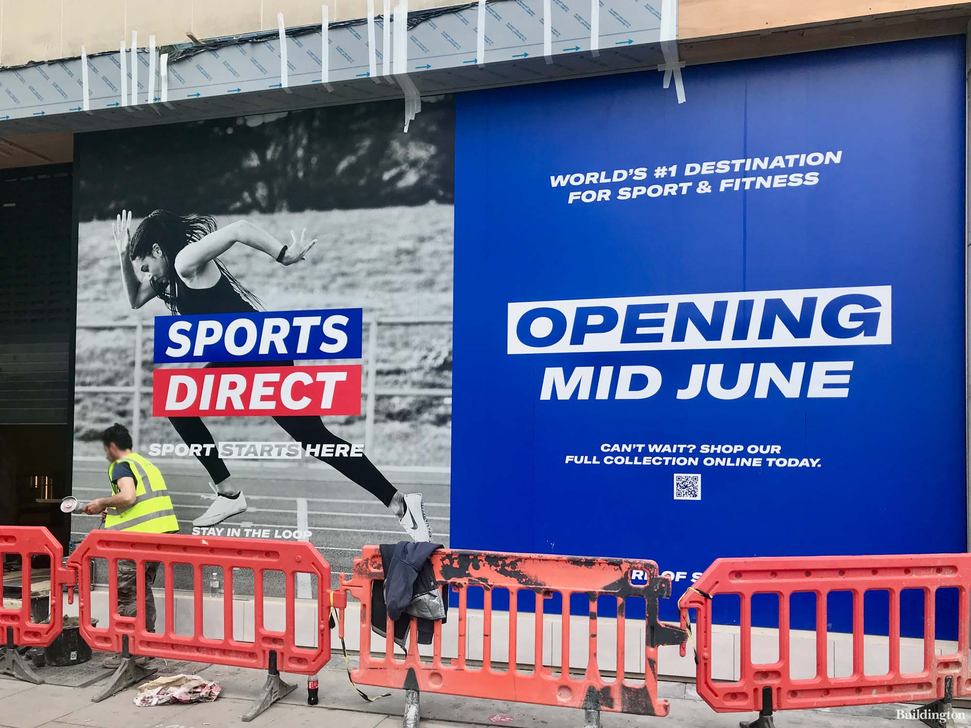 Sports Direct's refurbished store is opening mid-June.