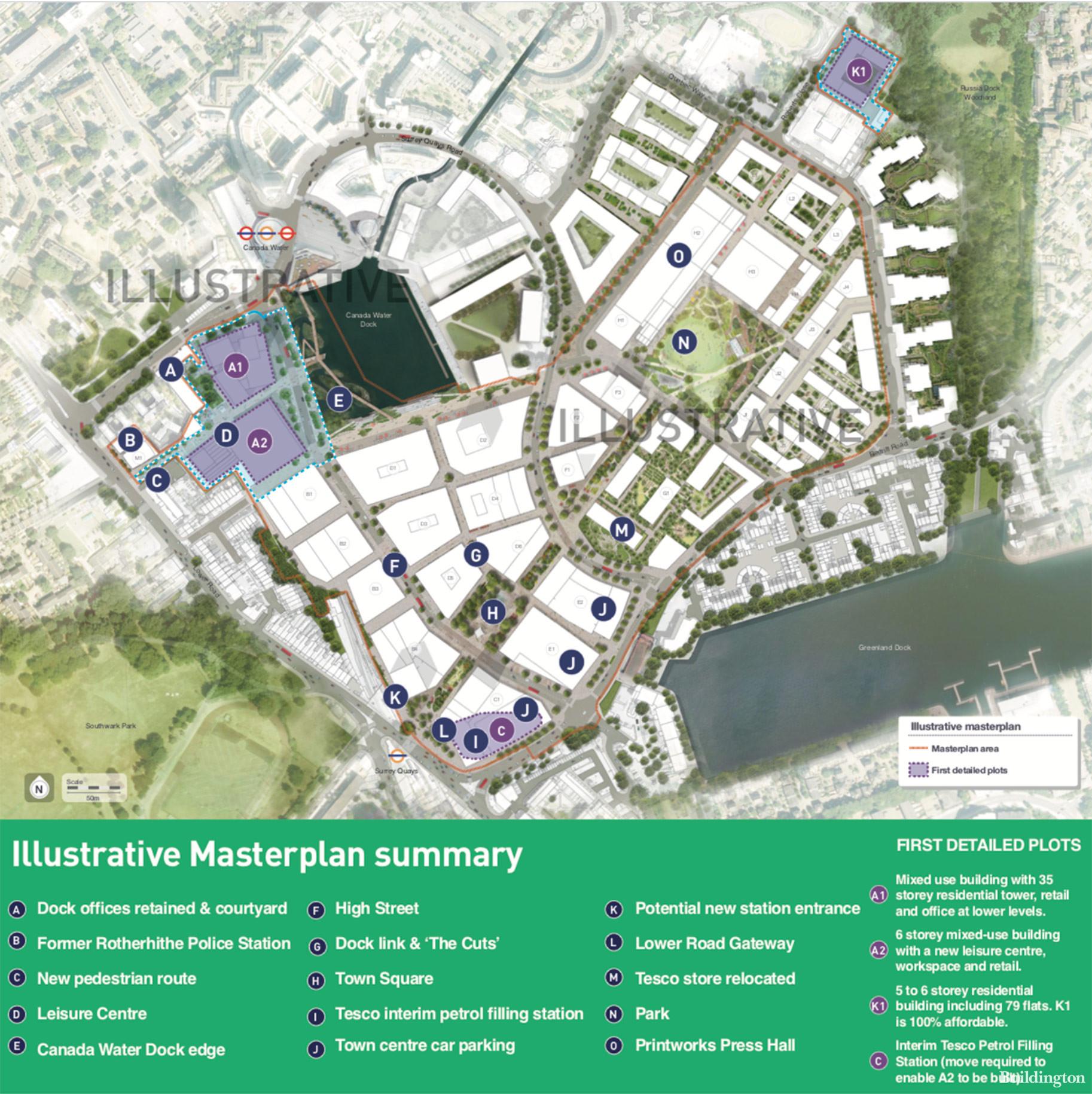 Canada Water Masterplan 2020