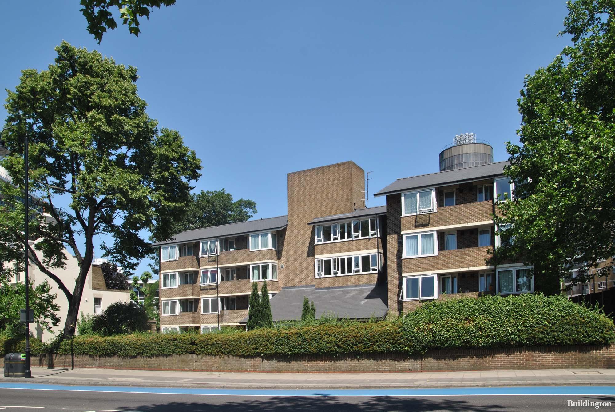Darwin House at 104 Grosvenor Road in Pimlico SW1.