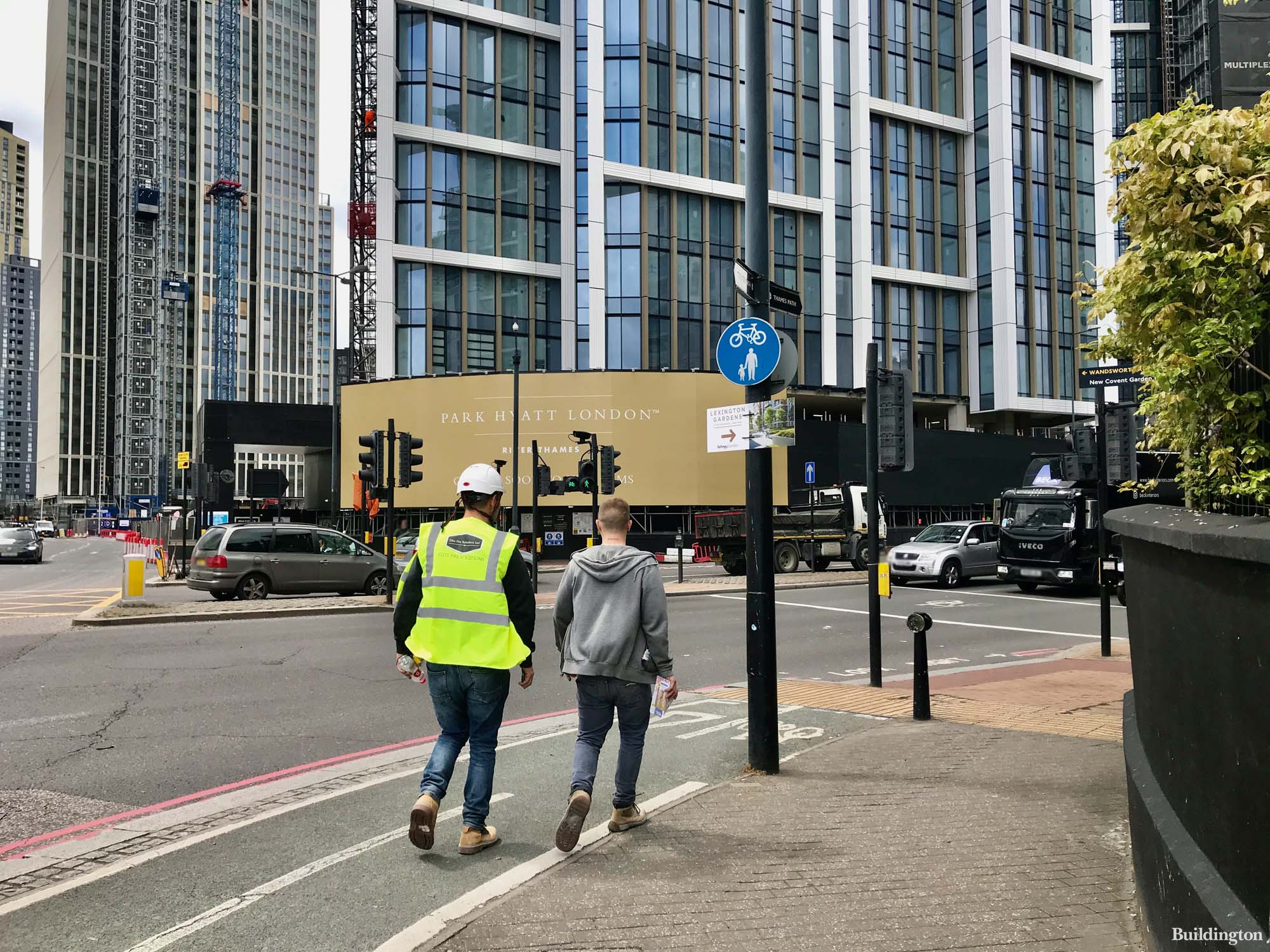 203-room Park Hyatt London River Thames in One Thames City development is expected to open in 2022.