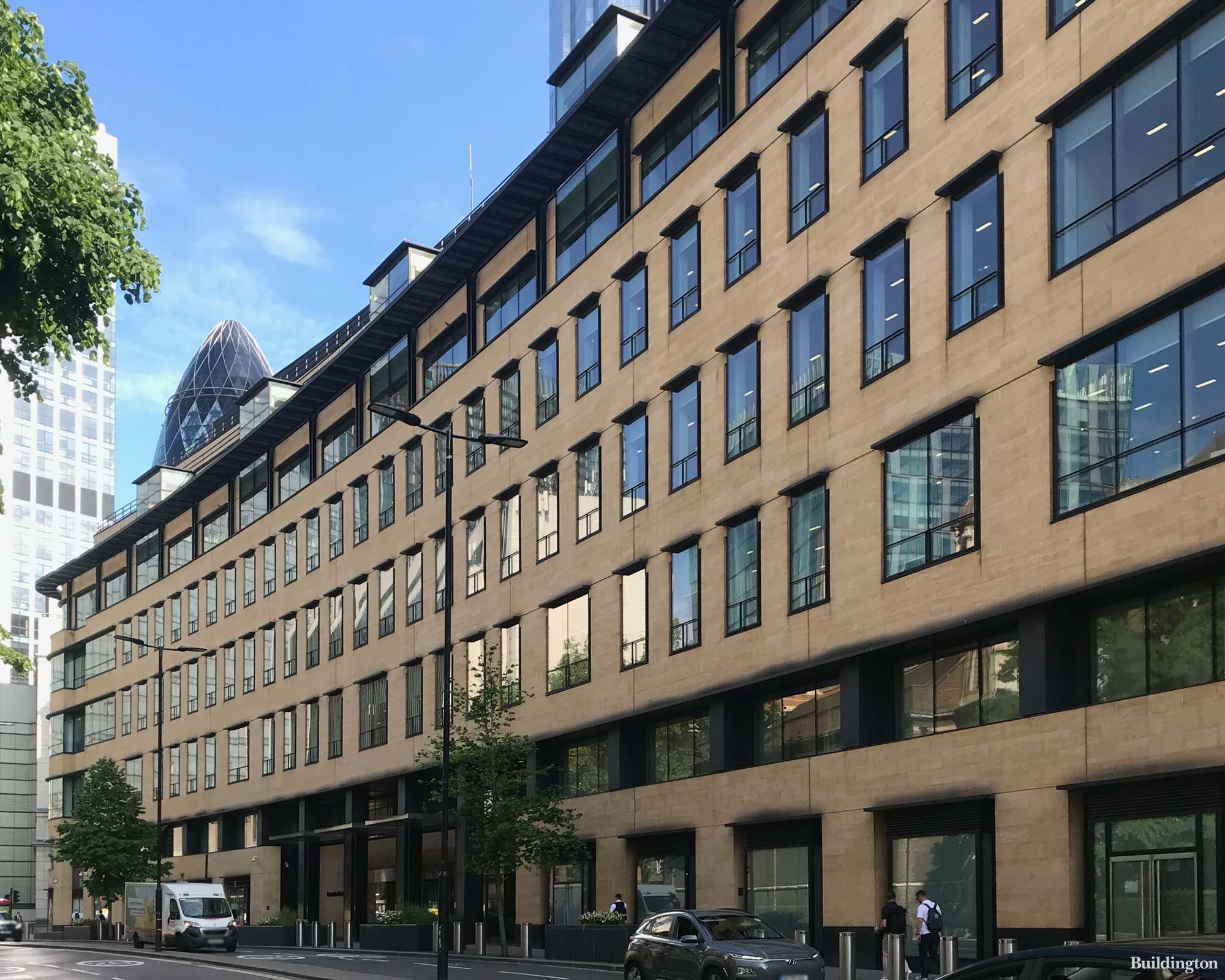 Winchester House on London Wall in the City EC2.