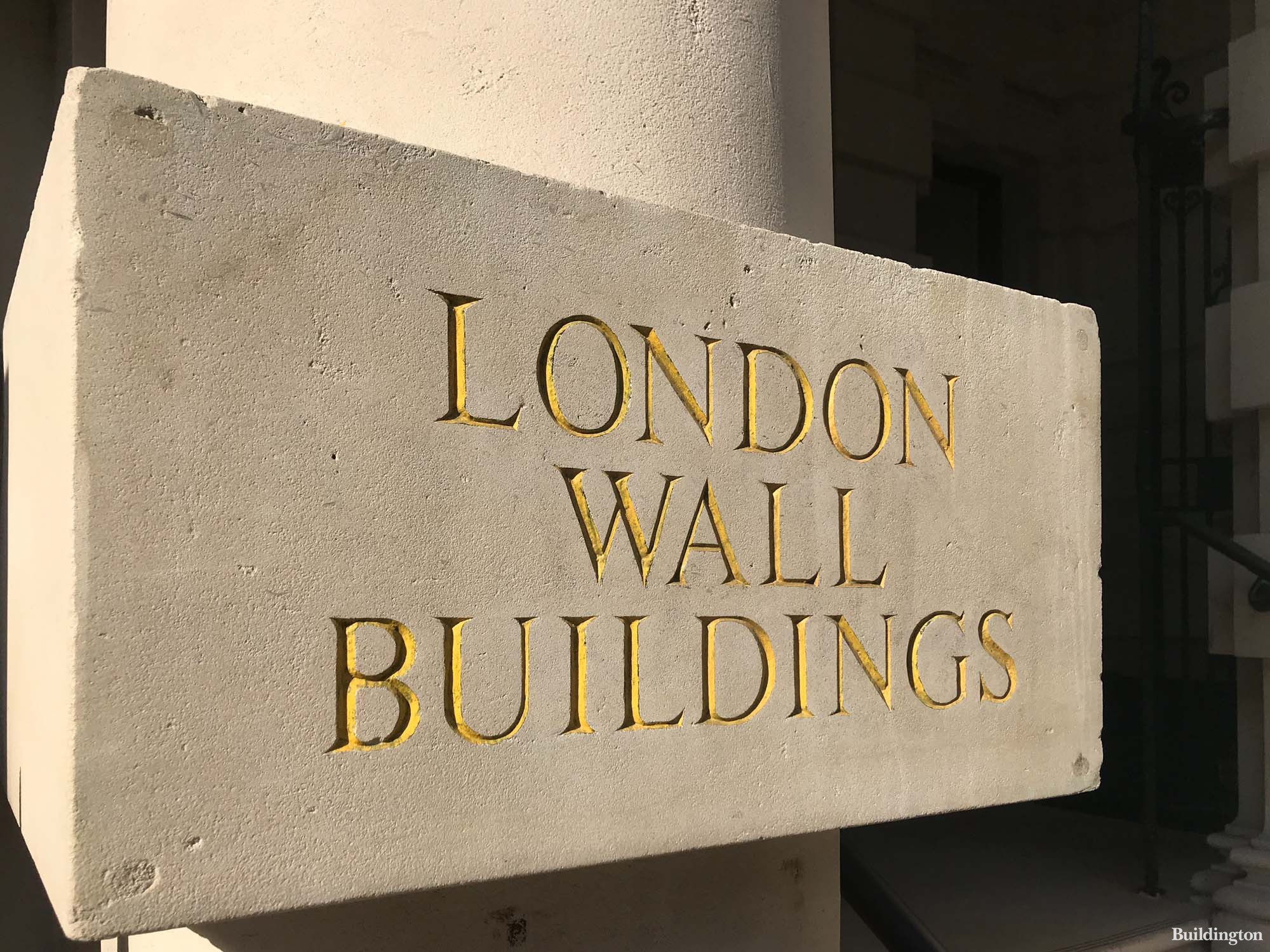 Grade II listed London Wall Buildings in the City of London EC2.