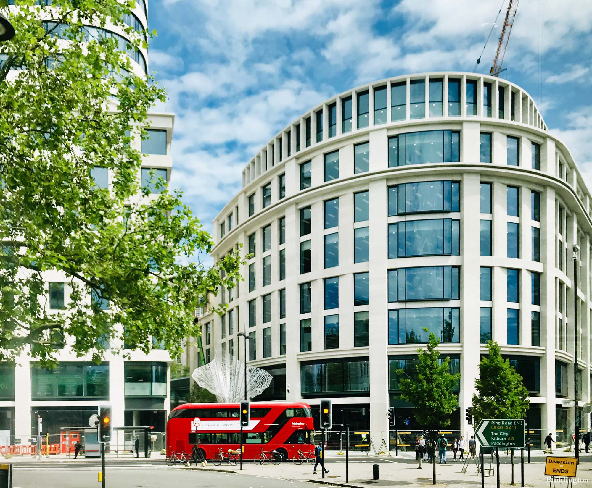 Marble Arch Place office development in London W1.
