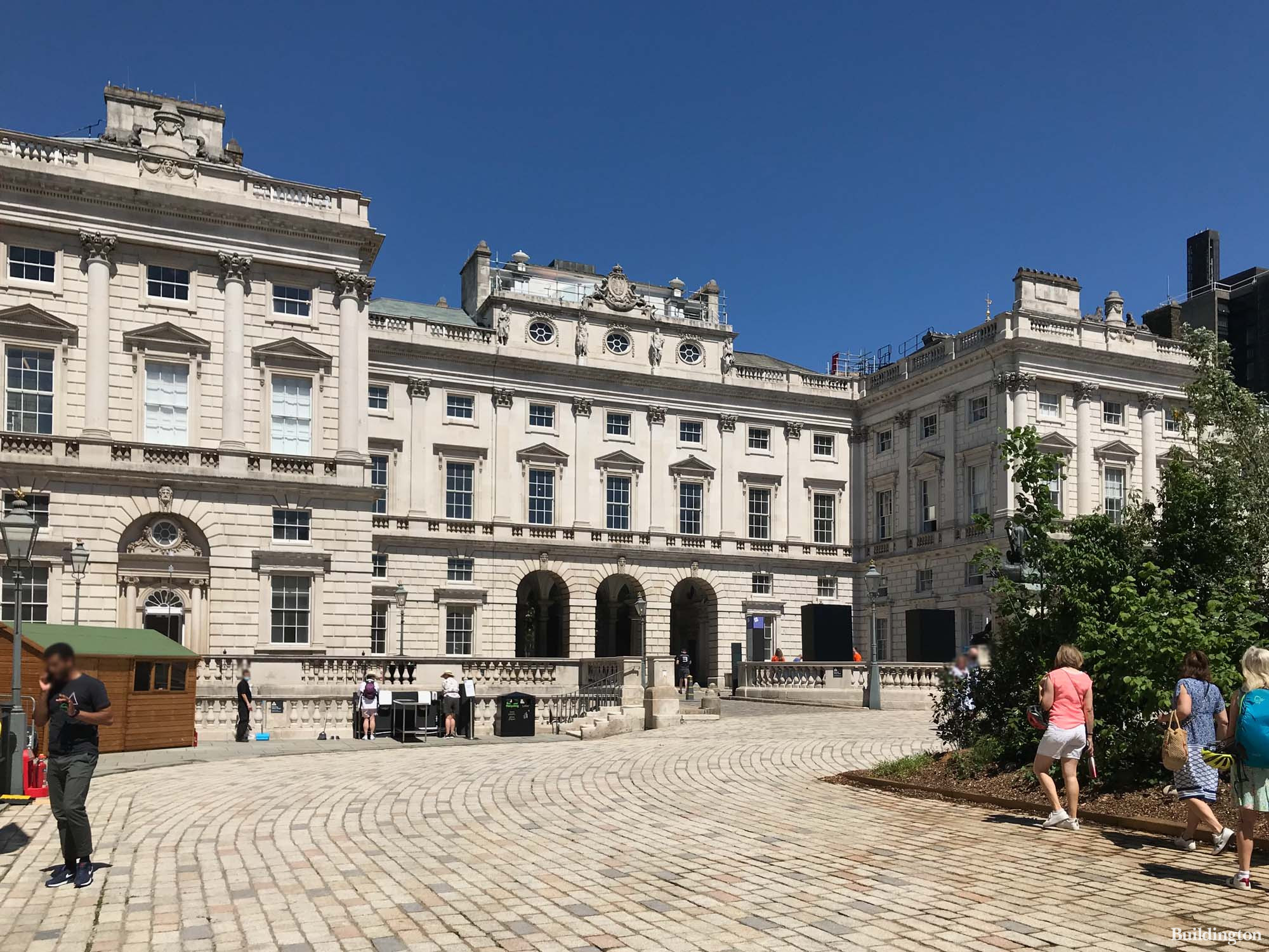 Somerset House North Wing in June 2021.