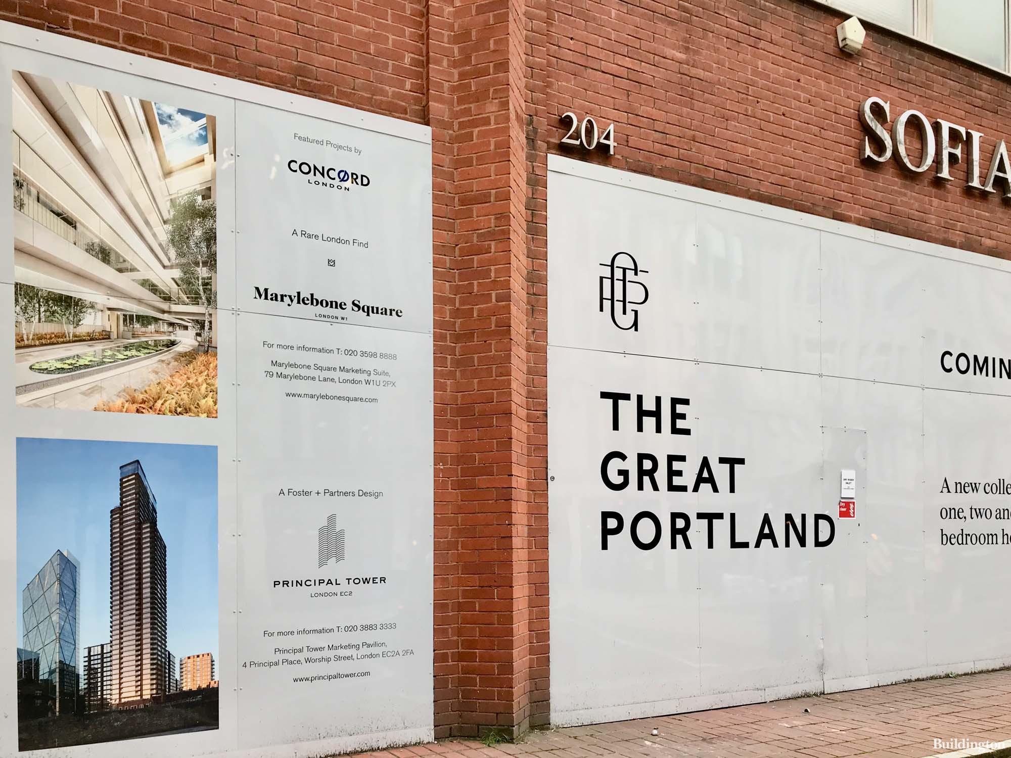 W1 Place development will offer 37 new build homes on Great Portland Street in Marylebone, London W1.