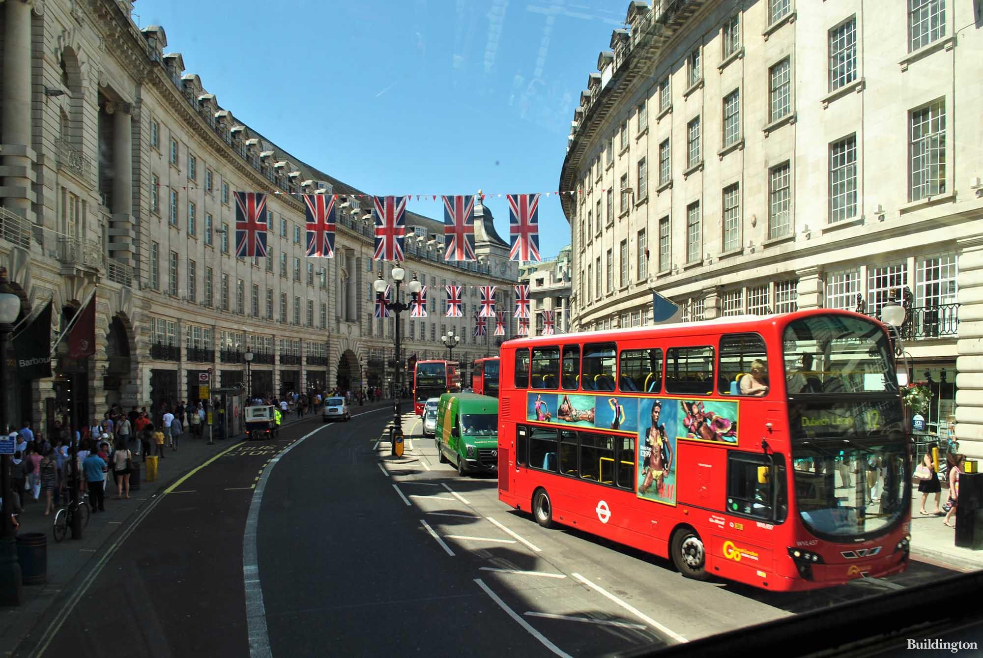 103-113 Regent Street building in London W1.