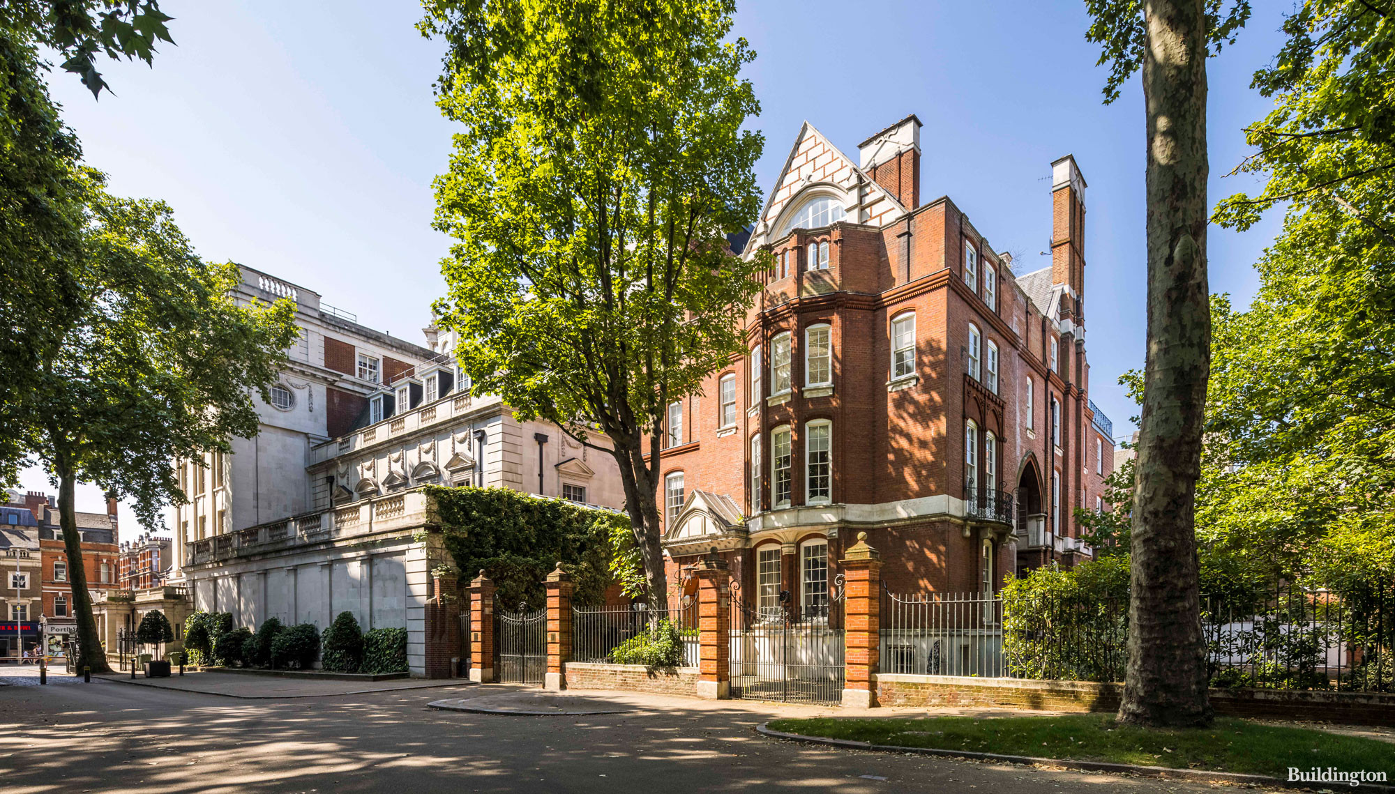 One Palace Green Grade II* listed building in Kensington is set to be restored and turned into luxury apartments by REDD.