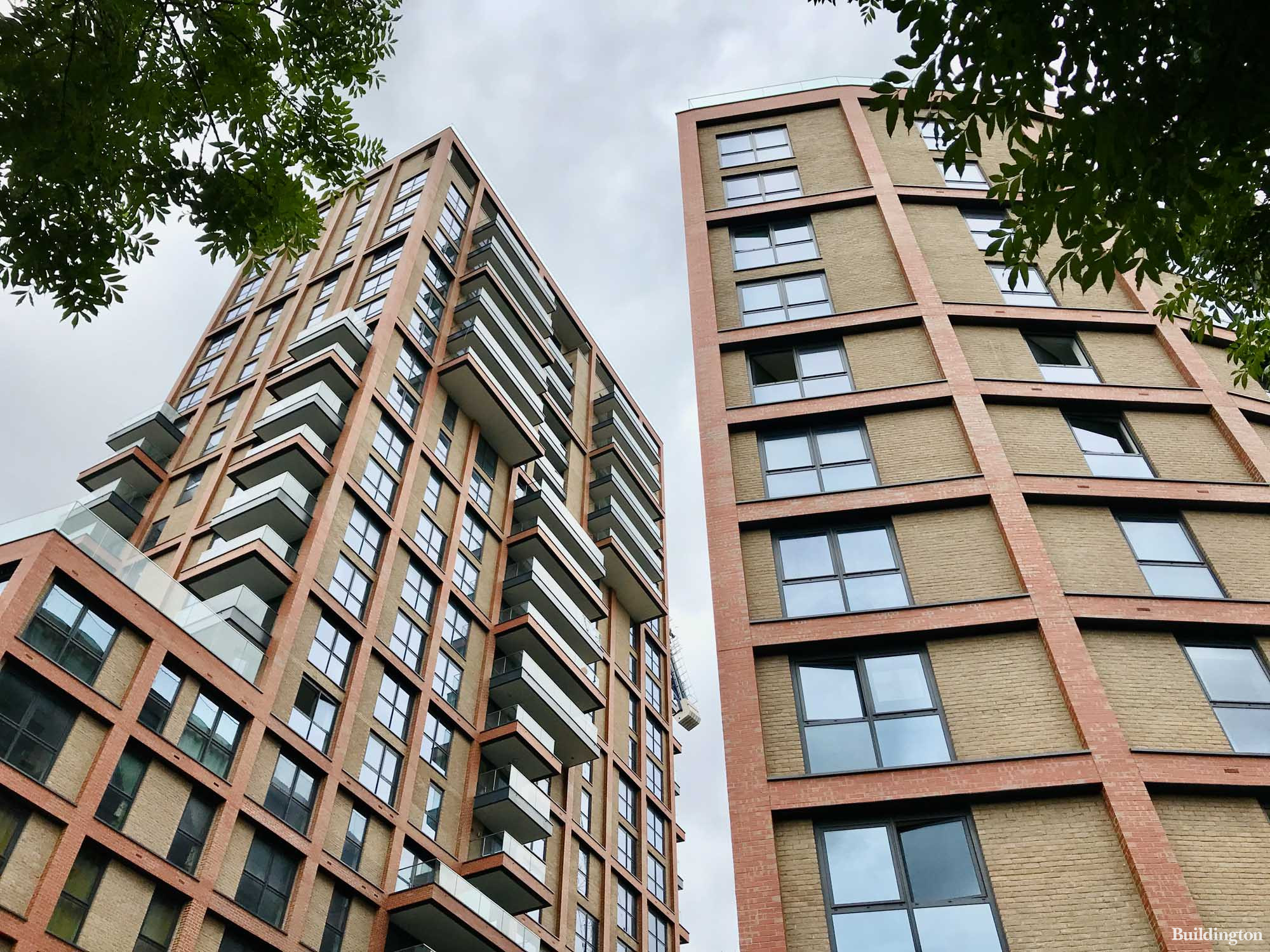 Williamson Heights and Manley Heights towers in Wembley Park HA9.