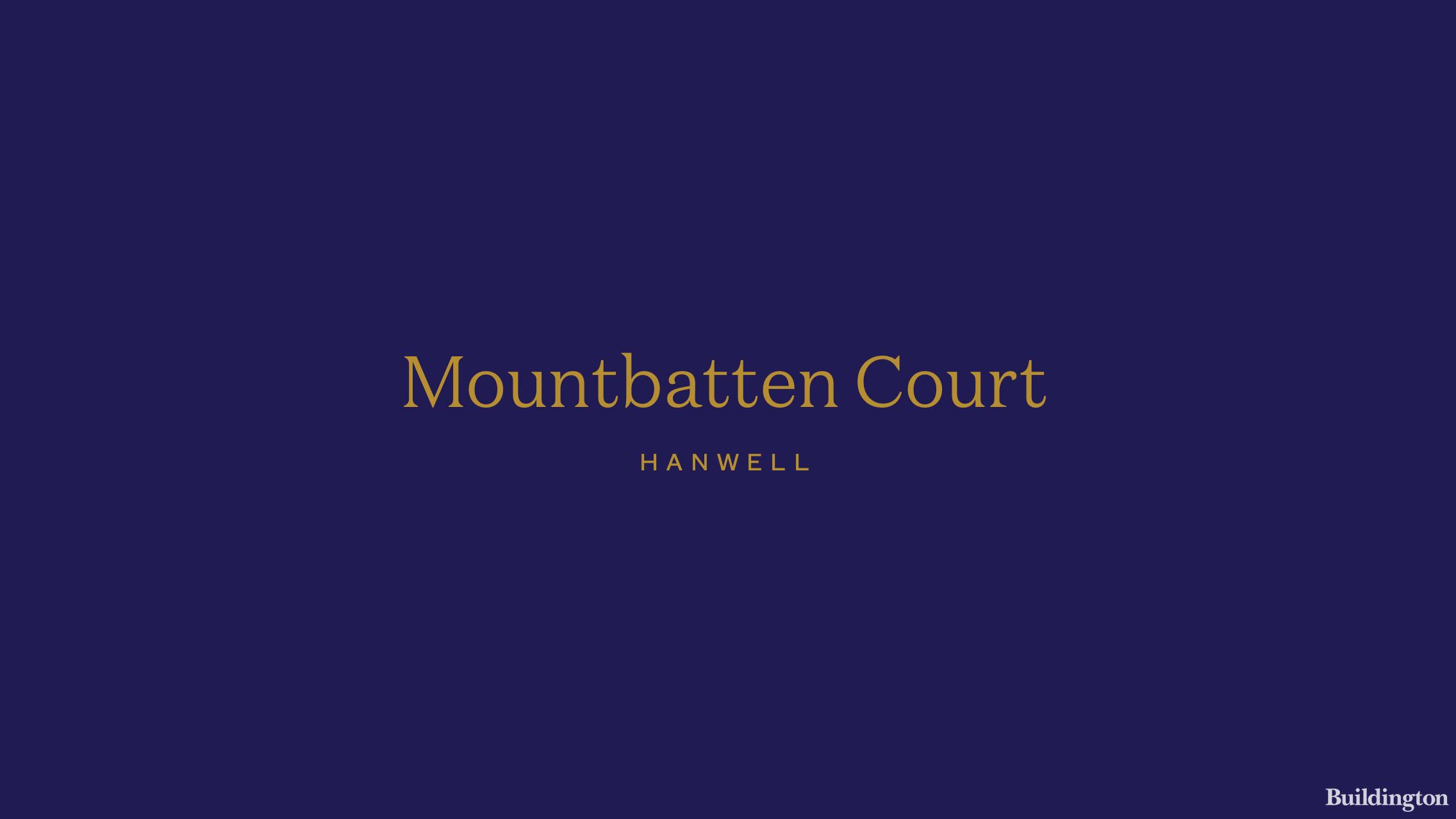 Mountbatten Court development logo.