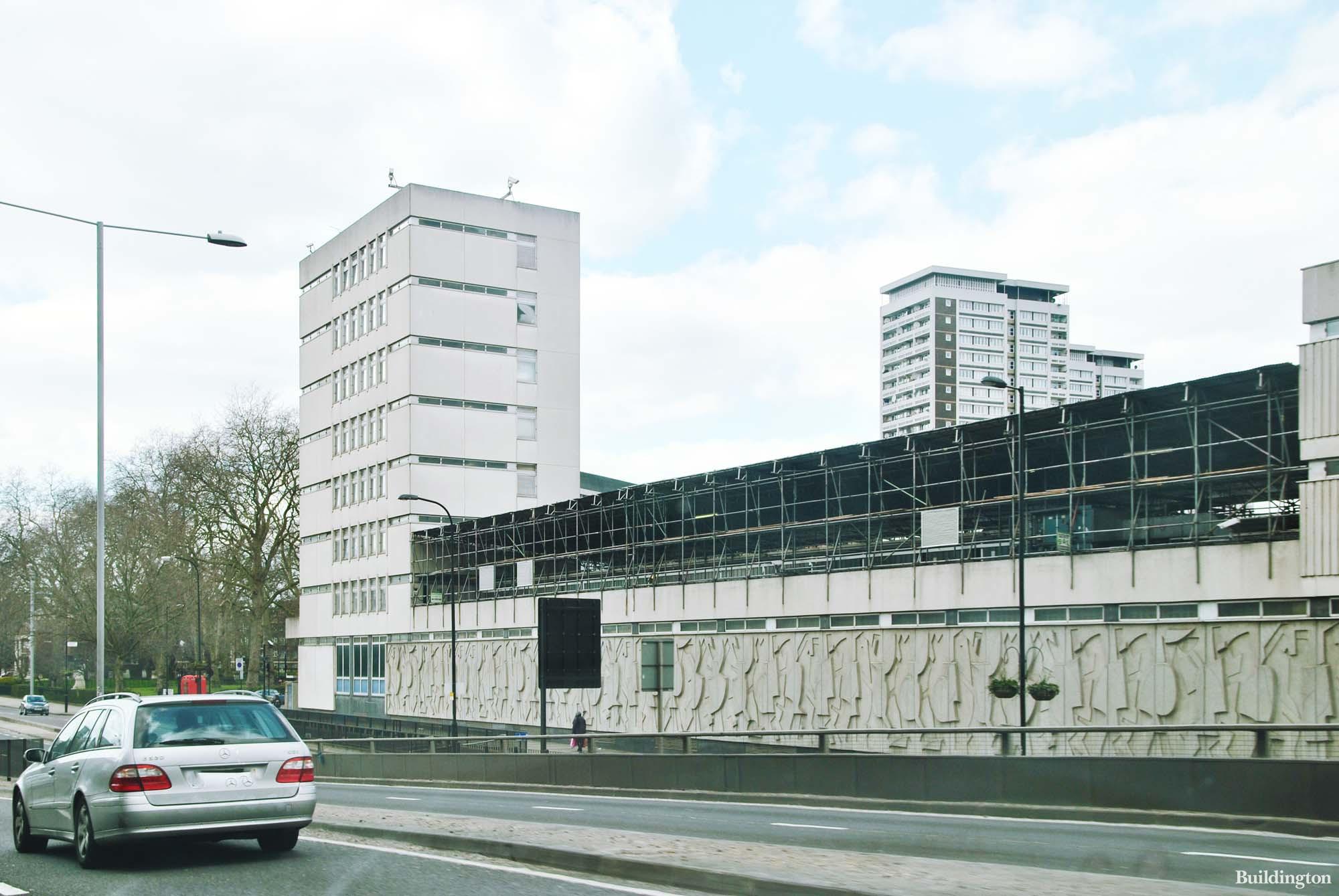 Paddington Green Police Station on Harrow Road in 2013.