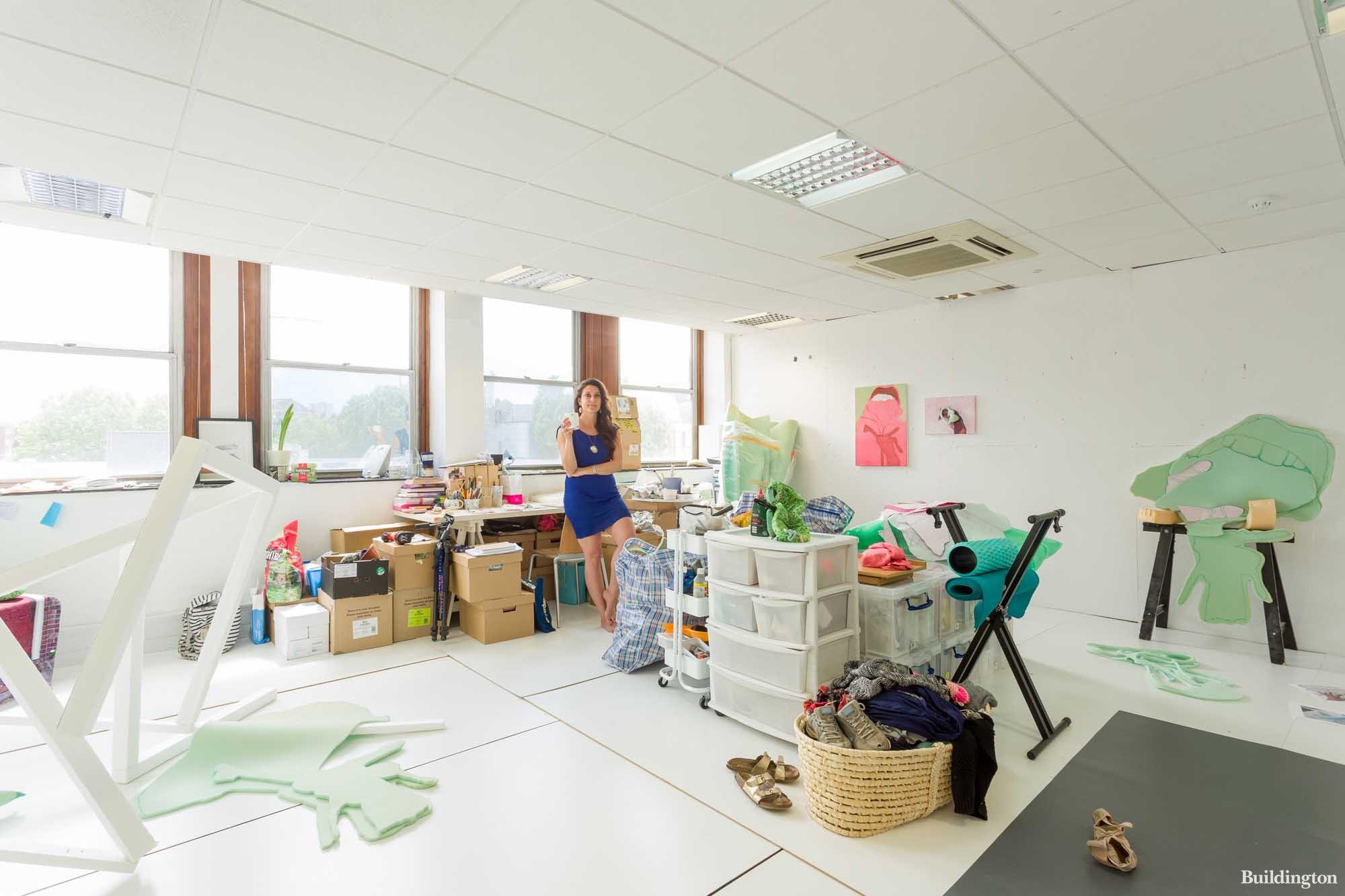 SET Woolwich studio space on Beresford Street in London SE18.