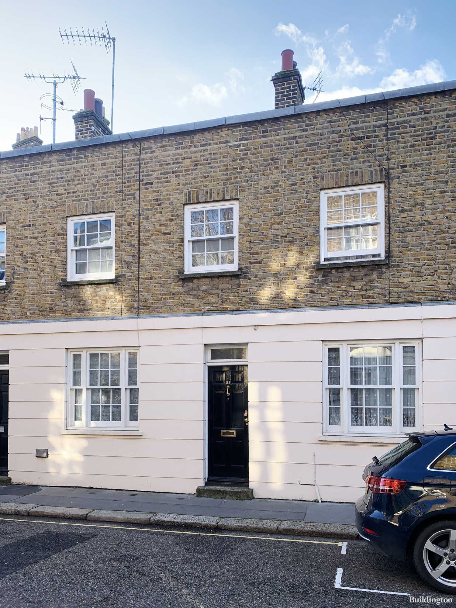 VOZA Developments site on Passmore Street in Belgravia, London SW1.