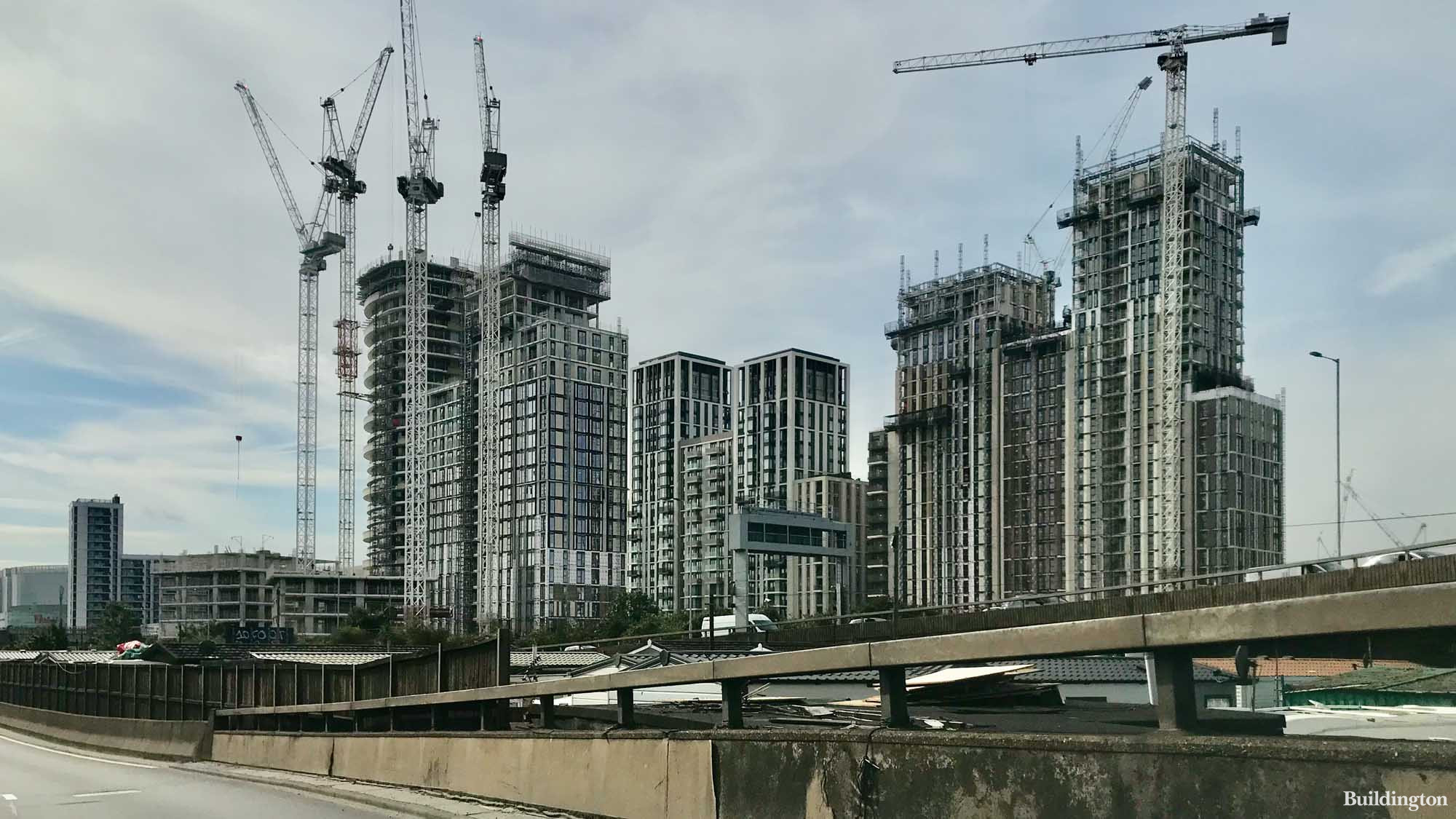 White City Living development by St James in White City, London W12