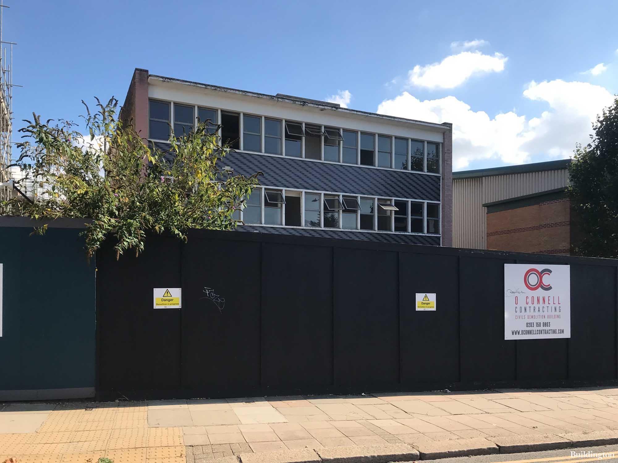 58 Neasden Lane hotel development site.
