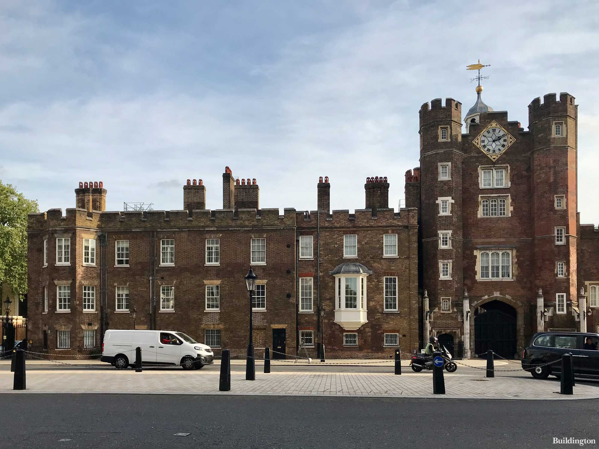 St James's Palace in autumn 2021.