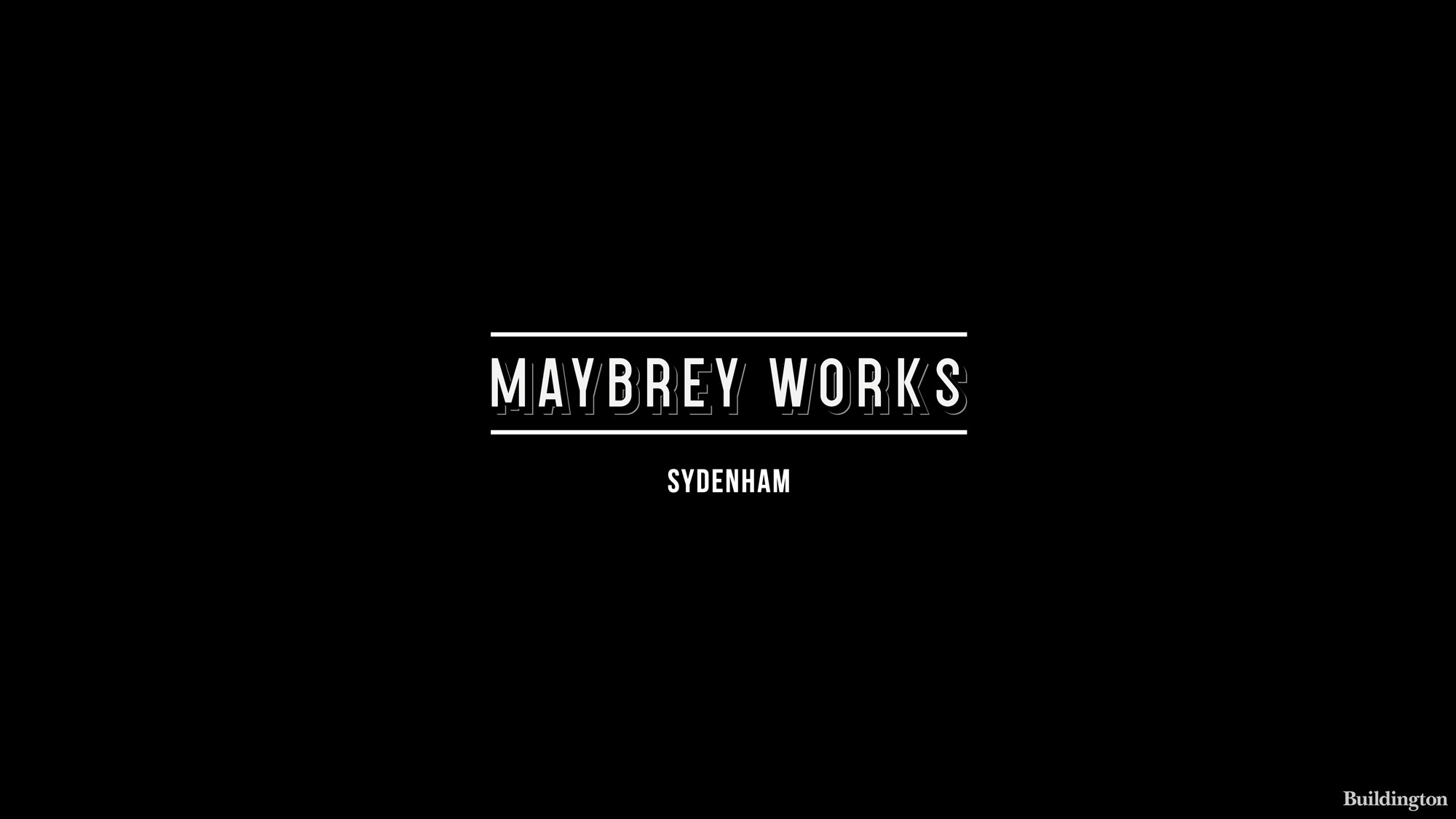 Maybrey Works by Bellway development logo.