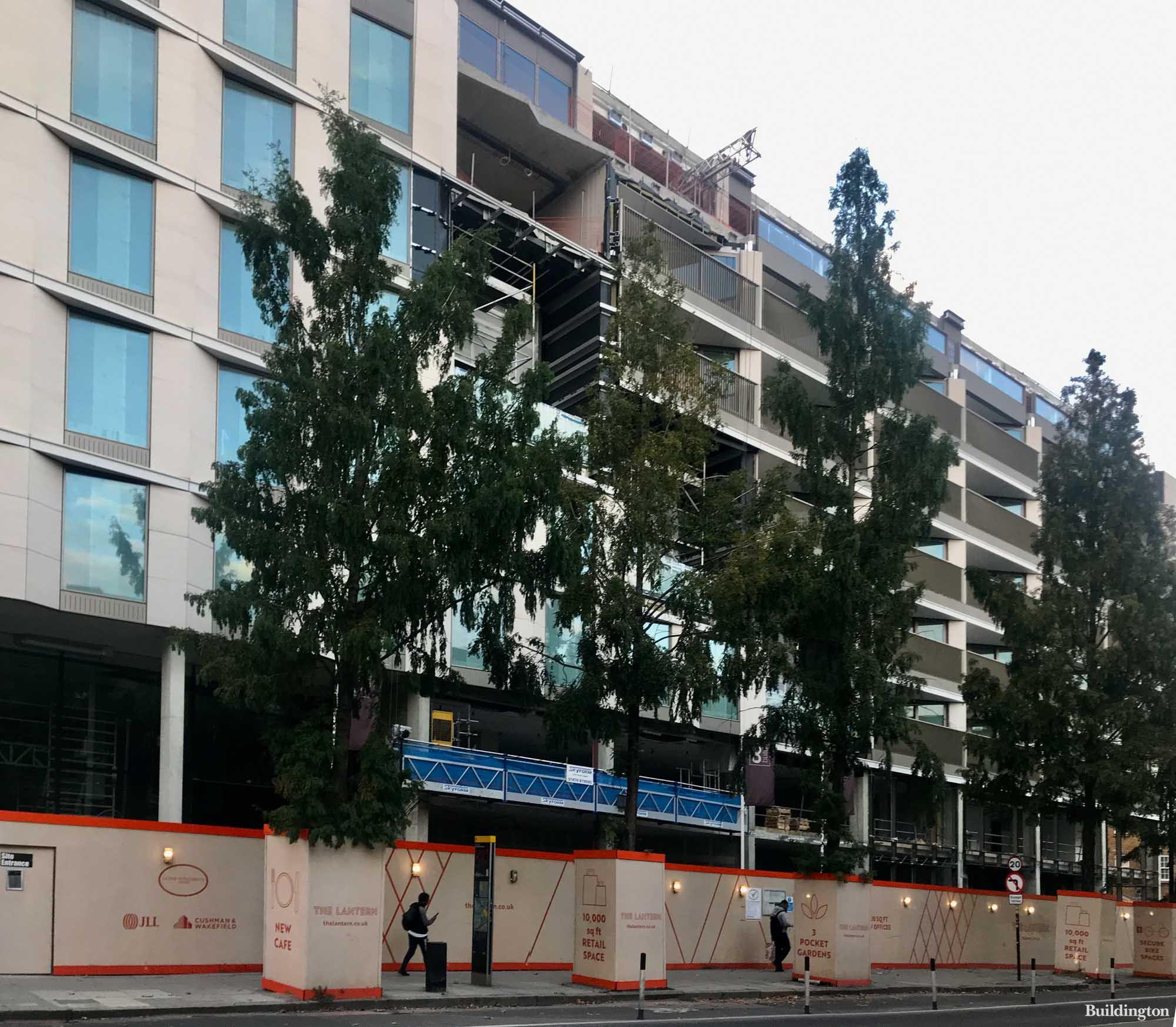 The Lantern development on Hampstead Road.