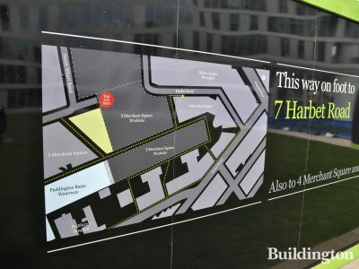 3 Merchant Square site plan