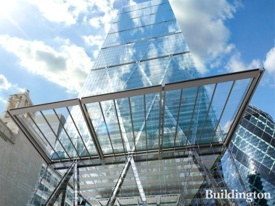 The Leadenhall Building, front view (CGI)
