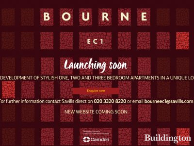 Bourne EC1 in September 2016 at Thecamdencollection.co.uk