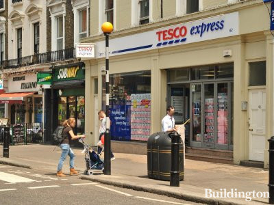 Tesco Express at 62 Queensway