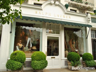 Ralph Lauren store at 233-235 Westbourne Grove in 2012.