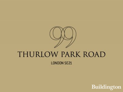 99 Thurlow Park Road development in London SE21.