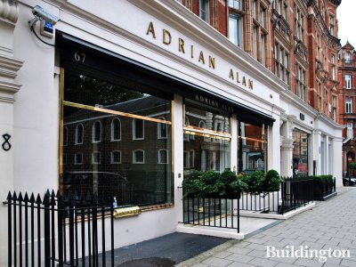 66-67 South Audley Street in Mayfair, London W1.