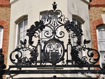 16 Cheyne Walk gate.
