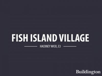 Fish Island Village in Hackney Wick, London E3